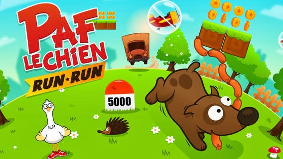 (Mobile) On peut installer Paf le chien Run Run