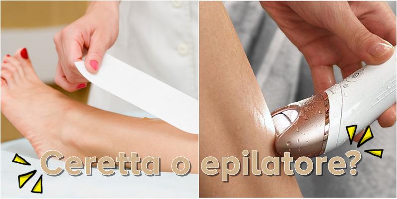 Cera dePilazione o epilatore