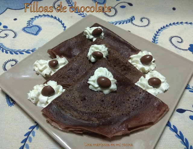 Filloas De Chocolate