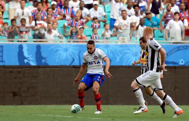De virada, Bahia vence o Ceará por 3 a 1