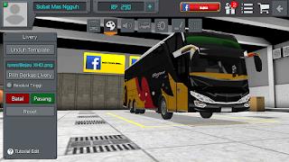 Livery Bus Bussid Bejeu Emas Hitam bus Double Decker pertama di indonesia