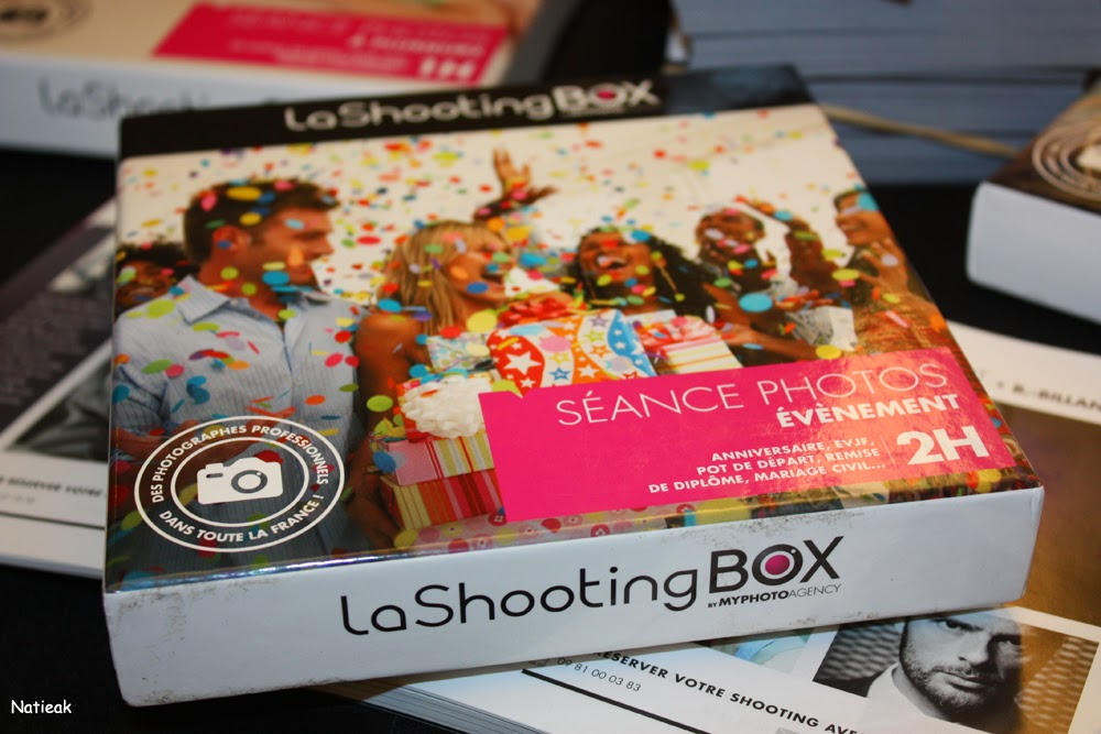 coffret photo La Shooting Box