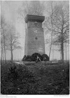 Ehrenmal Mellet, 1914-1918, Joseph Stoll war zuständig für die Soldatenfriedhöfe; Nachlass Joseph Stoll Bensheim, Stoll-Berberich 2016