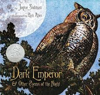 Dark Emperor by Joyce Sidman poetry book cover