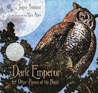 Dark Emperor by Joyce Sidman poetry book cover