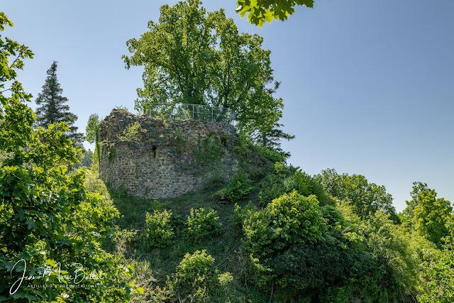 Château du Schrankenfels — front nord