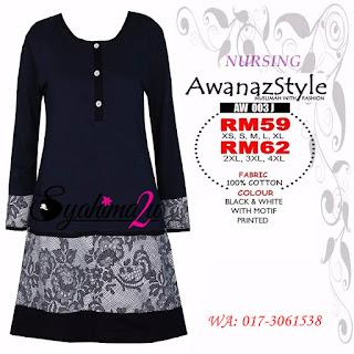 T-Shirt-Muslimah-Awanazstyle-AW003J