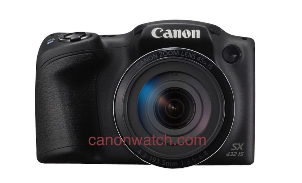 Canon PowerShot SX432, вид спереди