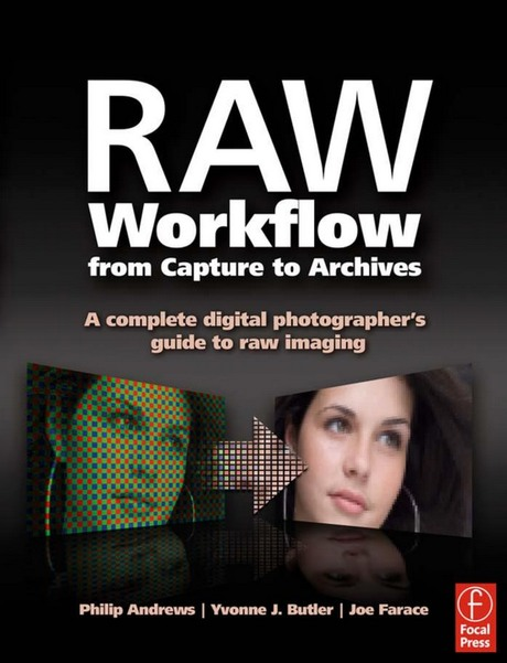 Portada libro: RAW Workflouw