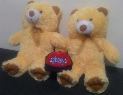 Boneka teddy bear XL krem