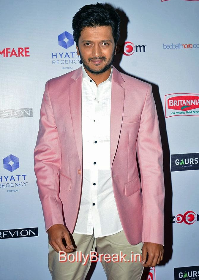 Reteish Deshmukh, Filmfare Awards 2015 Red Carpet Pics for Nominations Pre Party