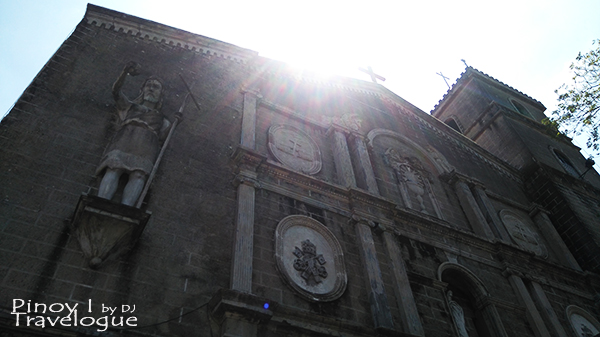 Facade of Taytay Church