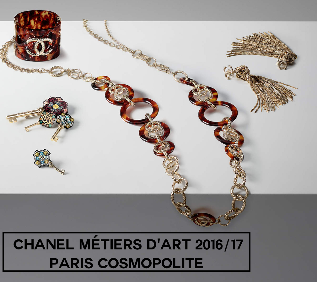 Chanel Métiers d'Art 2016/17 Paris Cosmopolite