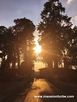 Sunset in Pátzcuaro, Michoacán