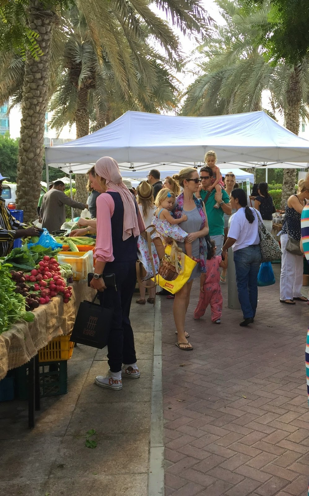 The Farmer's Market on the Terrace in Dubai