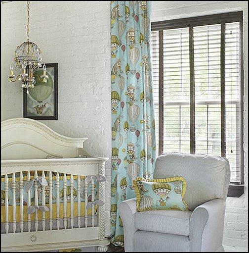 Maries Manor Baby Bedrooms: Maries Manor: Hot Air Balloon