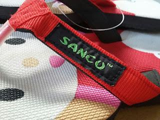 jual Sandal Sancu Happy Cat Merah di jakarta