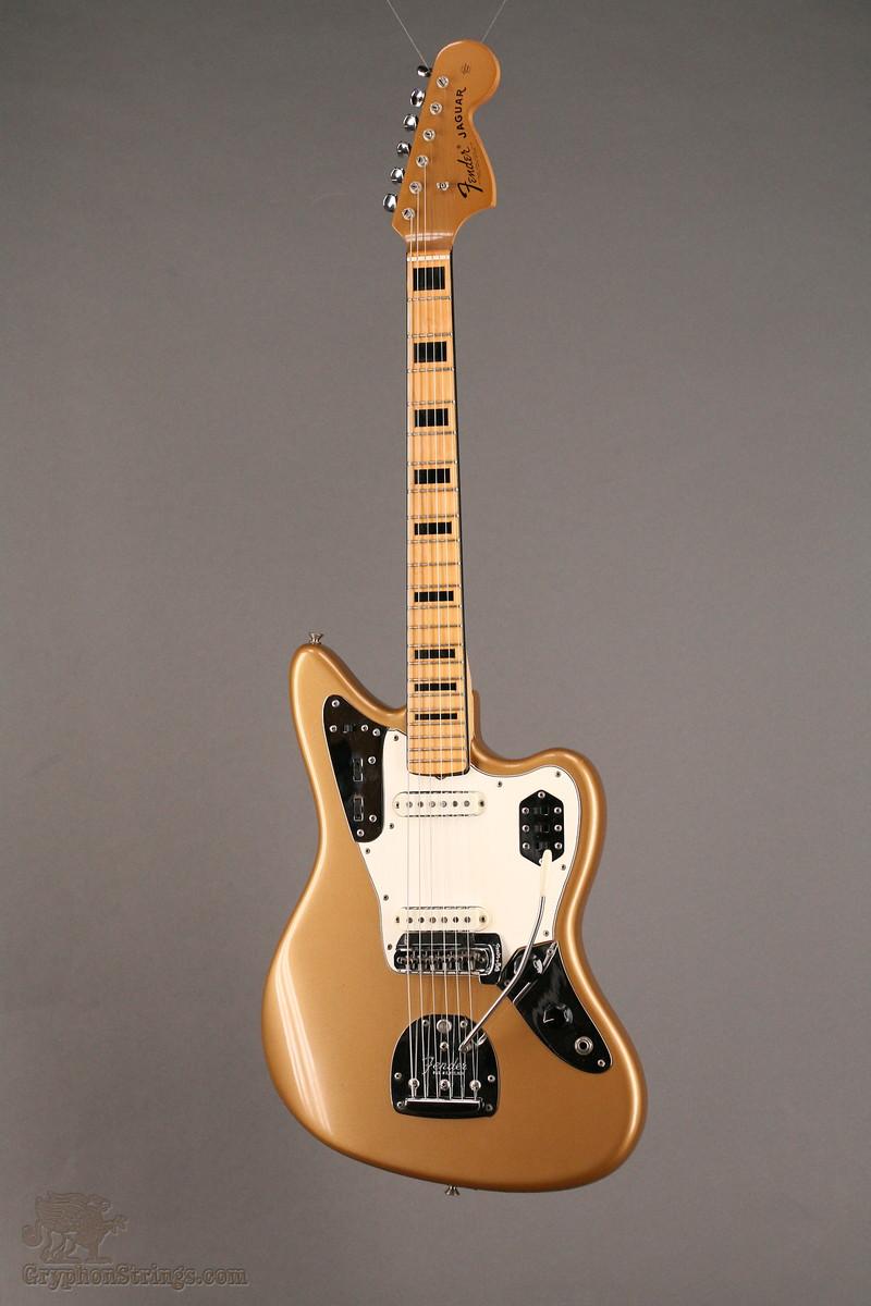 guitars a go go 1969 fender jaguar firemist gold. Black Bedroom Furniture Sets. Home Design Ideas