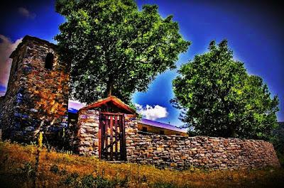 Ναός Αγίας Τριάδος, παλιά Σκαμνιά Ελασσόνας