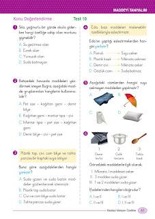 5. Sınıf Fen Bilimleri Ders Kitabı Cevapları Ada Sayfa 61