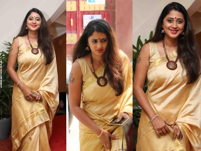 Actress Kanika AKA Kaniha Hot Photos In Saree