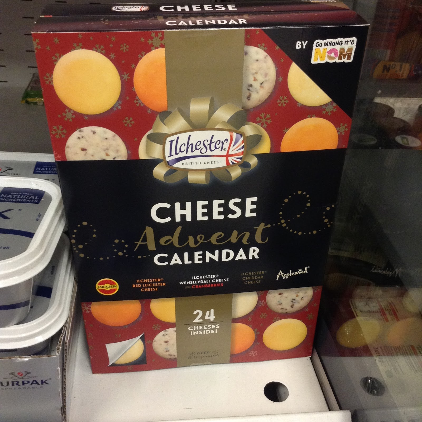 Where To Buy Cheese Advent Calendar Of Christmas In Shops 2017 Ft Oreo Tins Giant Toblerone