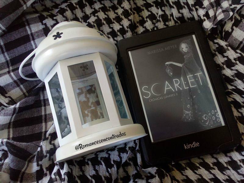 Reseña del libro Scarlet de la autora Marissa Meyer