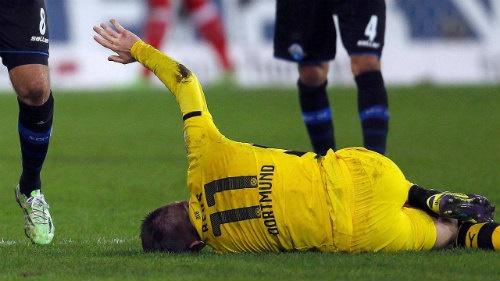 Cầu thủ Reus có thể ra sân nếu như việc điều trị thuận lợi