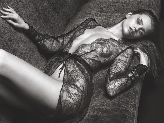 Agent Provocatur features lace robe in fall 2016 advertising campaign