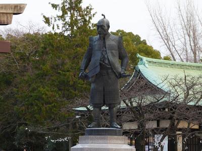 大阪城豊國神社 豊臣秀吉公銅像