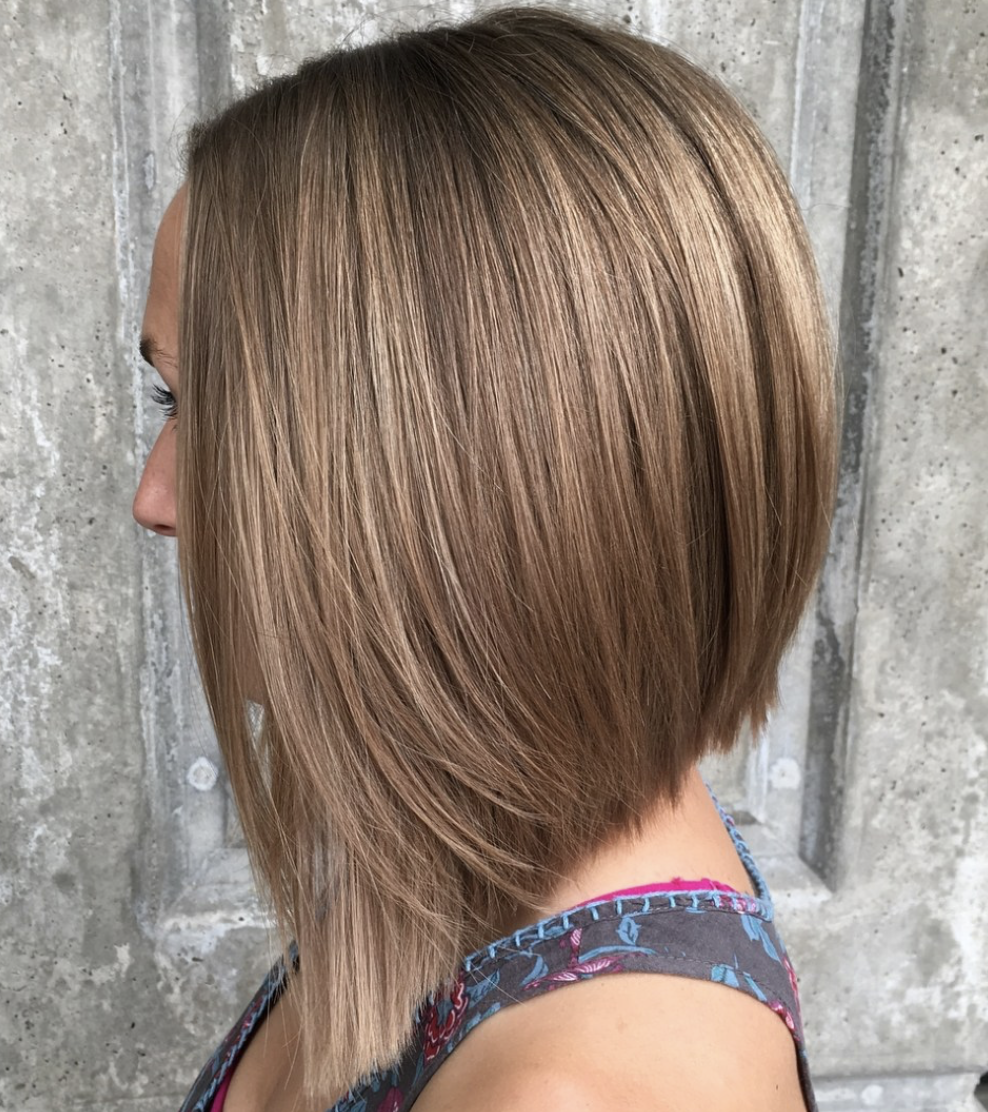 Most Popular Long Inverted Bob Hairstyles Latesthairstylepedia Com