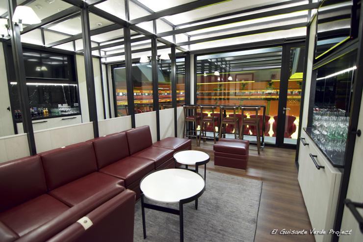 Interior Palco San Mames VIP Area - Bilbao por El Guisante Verde Project