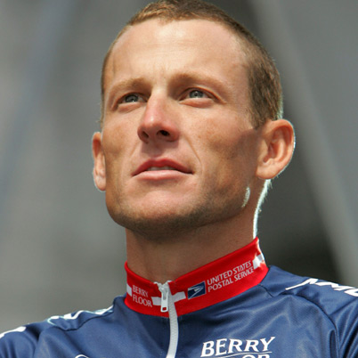 Lance Armstrong American former road racing cyclist