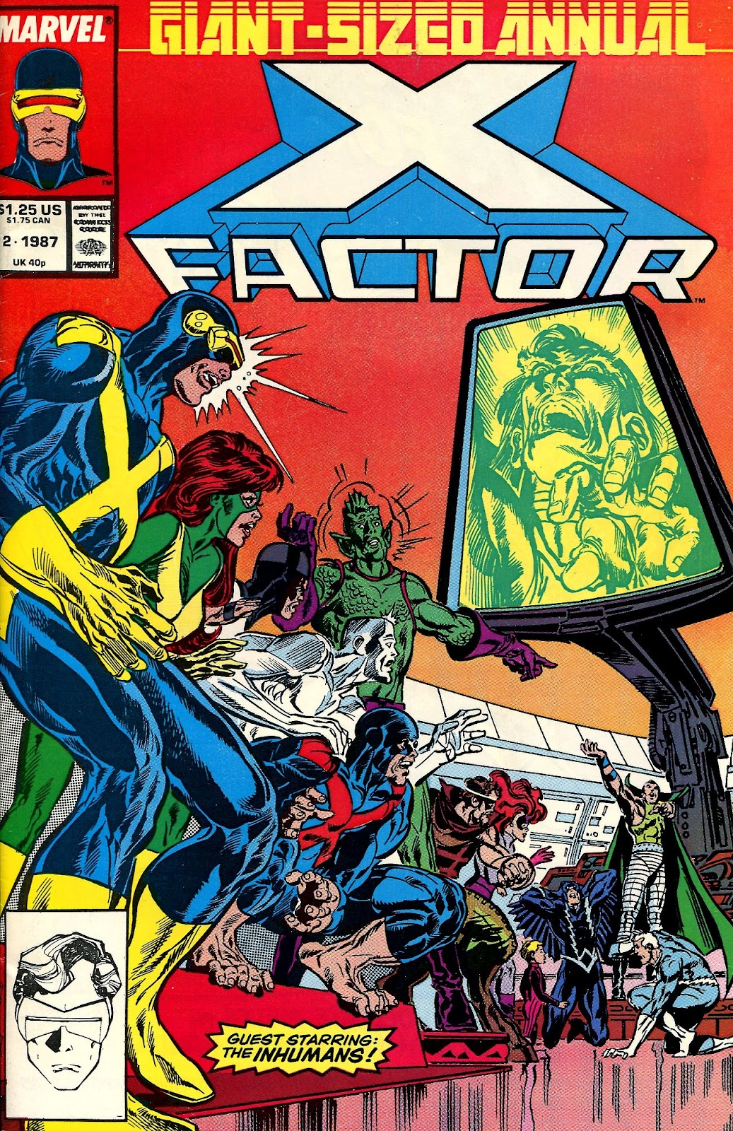 Super-DuperToyBox: X-Factor Annual Vol 1, #2 1987