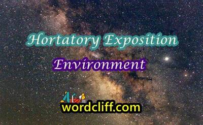 Hortatory Exposition Text About Environment