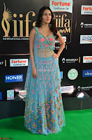 Amyra Dastur in Flower Print Choli Transparent Chunni at IIFA Utsavam Awards010.JPG