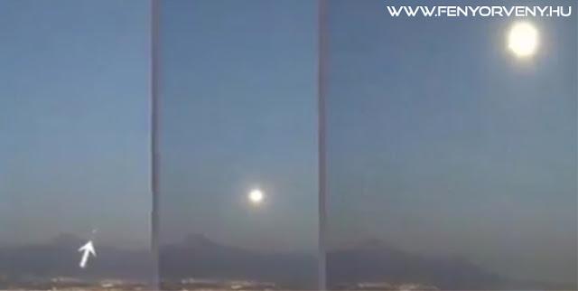 2400 km/órával száguldó UFO-t rögzített egy mexikói webkamera