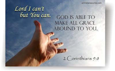 God is able 2 Corinthians 9:8