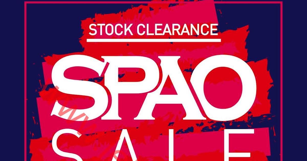 SPAO / WHO.A.U:Stock Clearance 全場買1送1(至31/7) ( Jetso Club 著數俱樂部 )