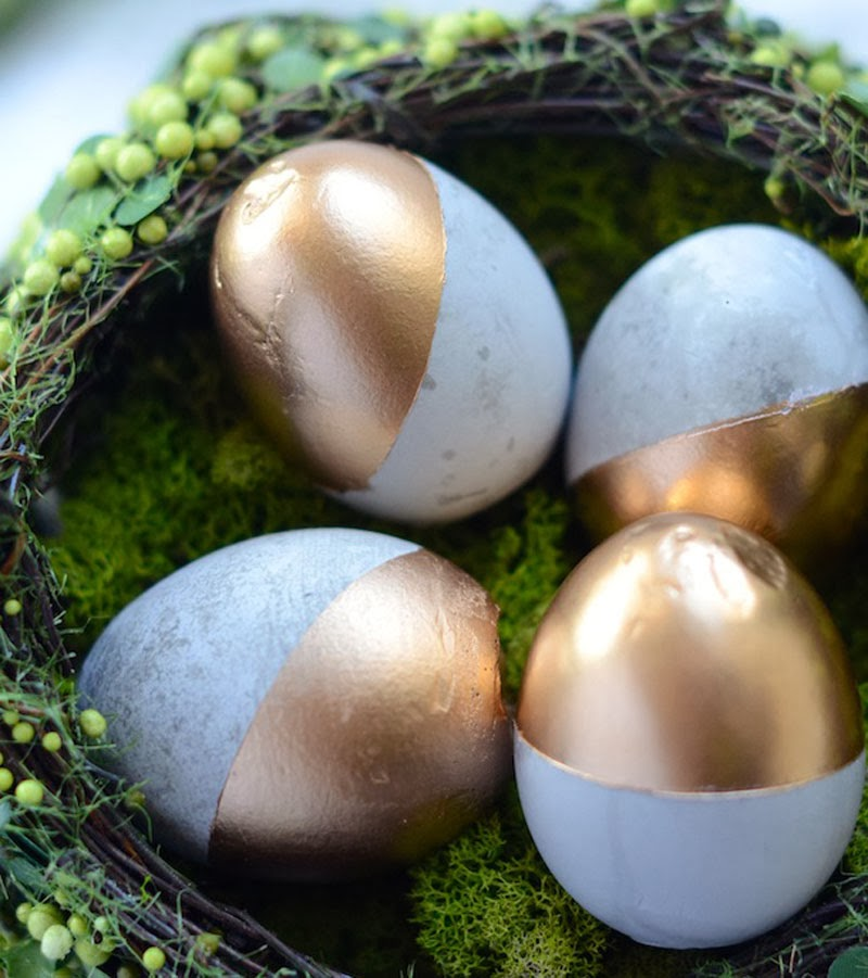 ideas para decorar huevos de Pascua