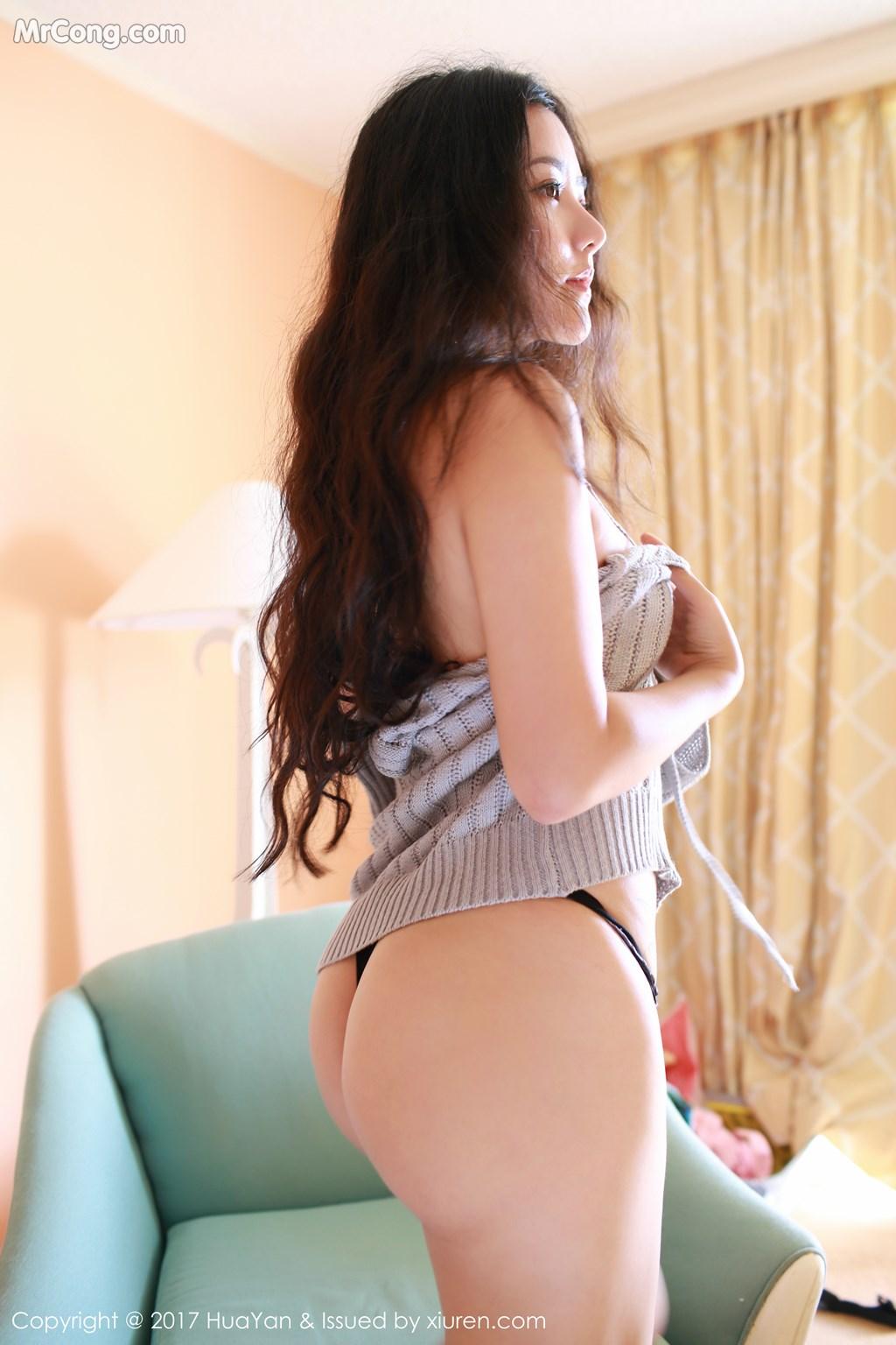 Image HuaYan-Vol.047-Manuela-MrCong.com-006 in post HuaYan Vol.047: Người mẫu Manuela (玛鲁娜) (47 ảnh)