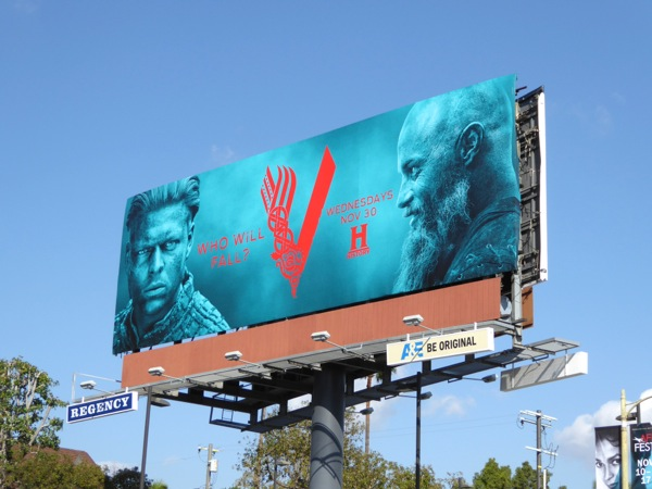 Vikings season 4 Pt 2 billboard