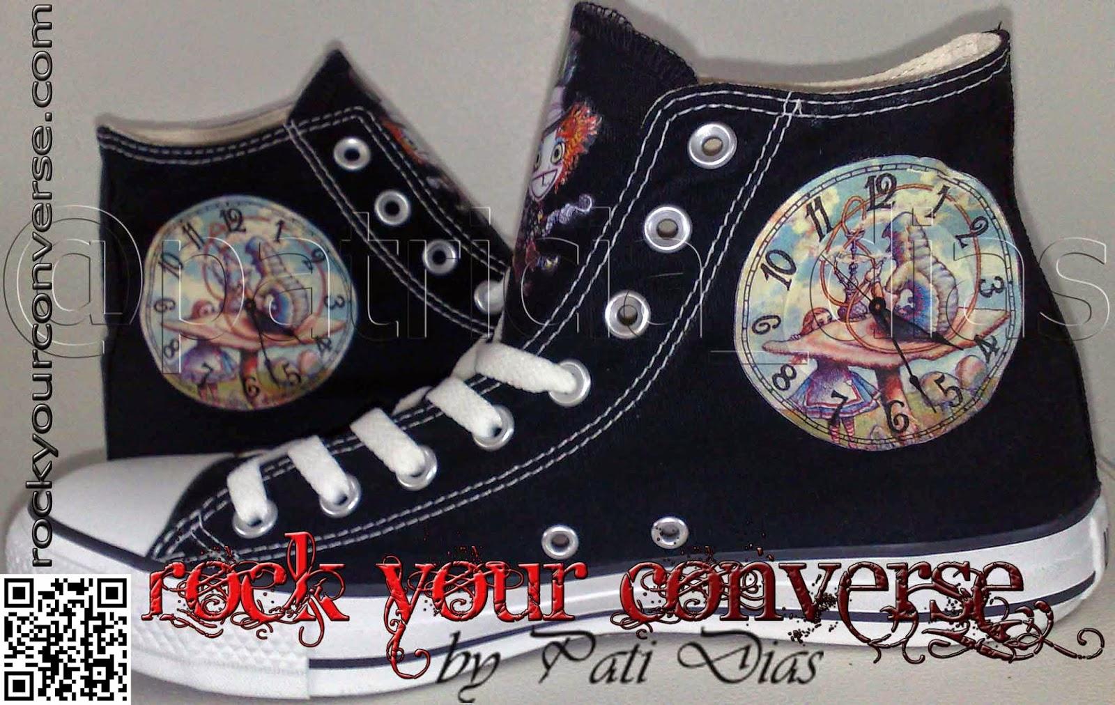 68822dc7d1 Converse All Star Customizado - Rock Your Converse!  O Mundo ...