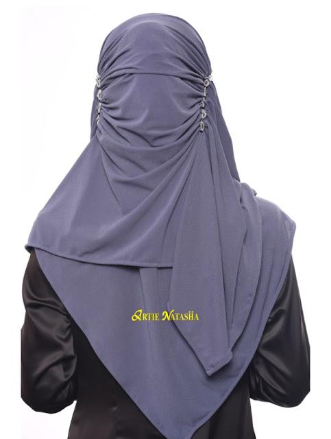 tudung instant shawl terkini desain terbaru
