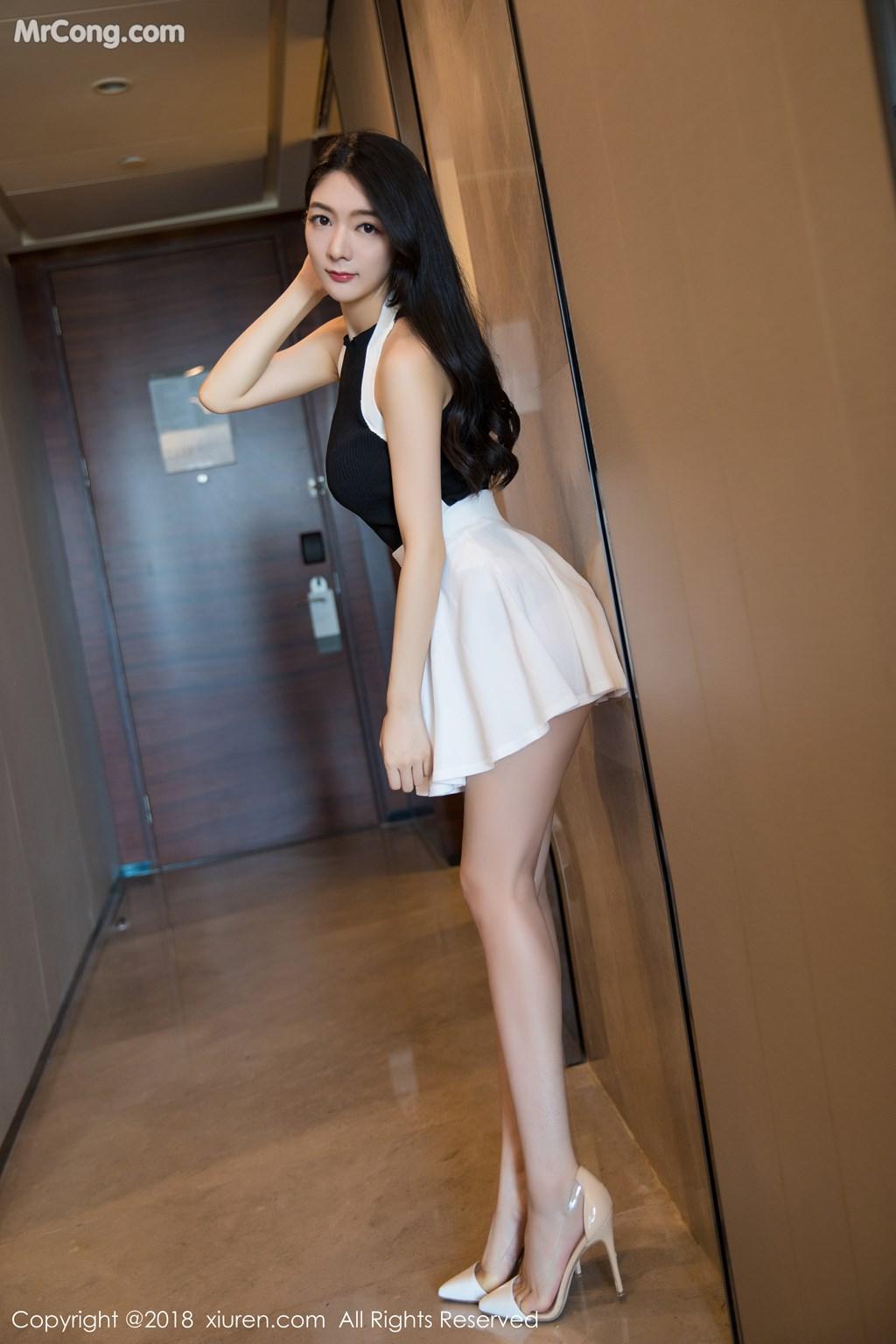 Image XIUREN-No.1175-Xiao-Reba-Angela-MrCong.com-006 in post XIUREN No.1175: Người mẫu Xiao Reba (Angela小热巴) (55 ảnh)