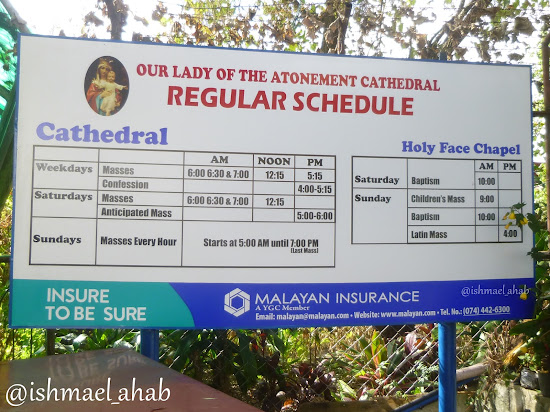 Baguio Cathedral Mass Schedule