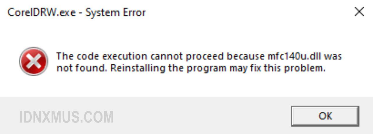 Mengatasi Error mfc140u.dll di Sketchup
