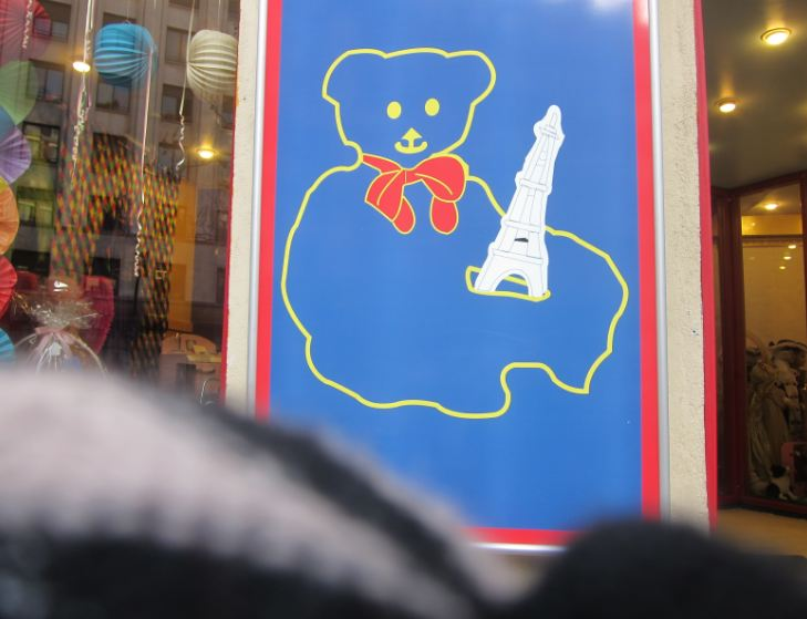 ... rue Casette 75006 or any other any other kid s toy or clothing store.  Rue Vavin is another good place to get your Basic French Training. a1b2788f19c8