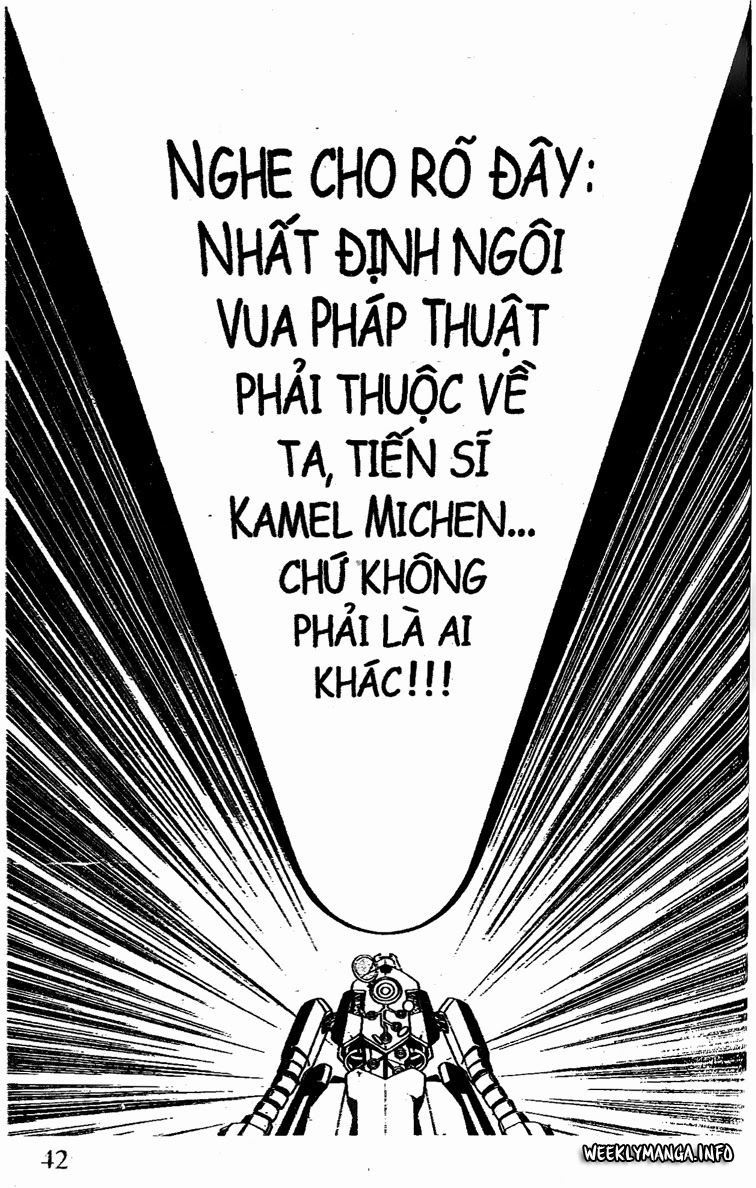 Shaman King [Vua pháp thuật] chap 199 trang 12