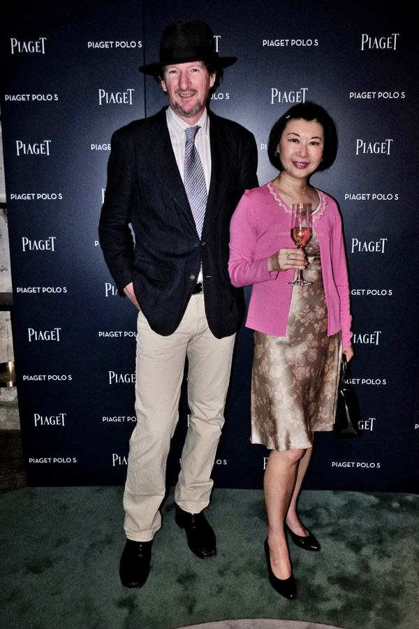 Kent & Vivienne Shui, Piaget Polo S Watch Launch - Beta Bar Sydney - Photographed by Kent Johnson for Street Fashion Sydney.